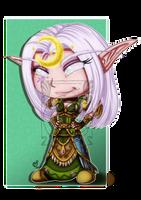 CM - Chibi Druid Nelf by LadyRosse