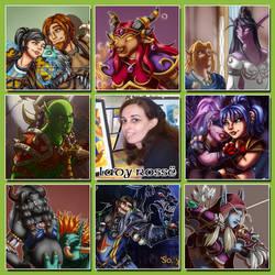 Art Vs Artist meme by LadyRosse