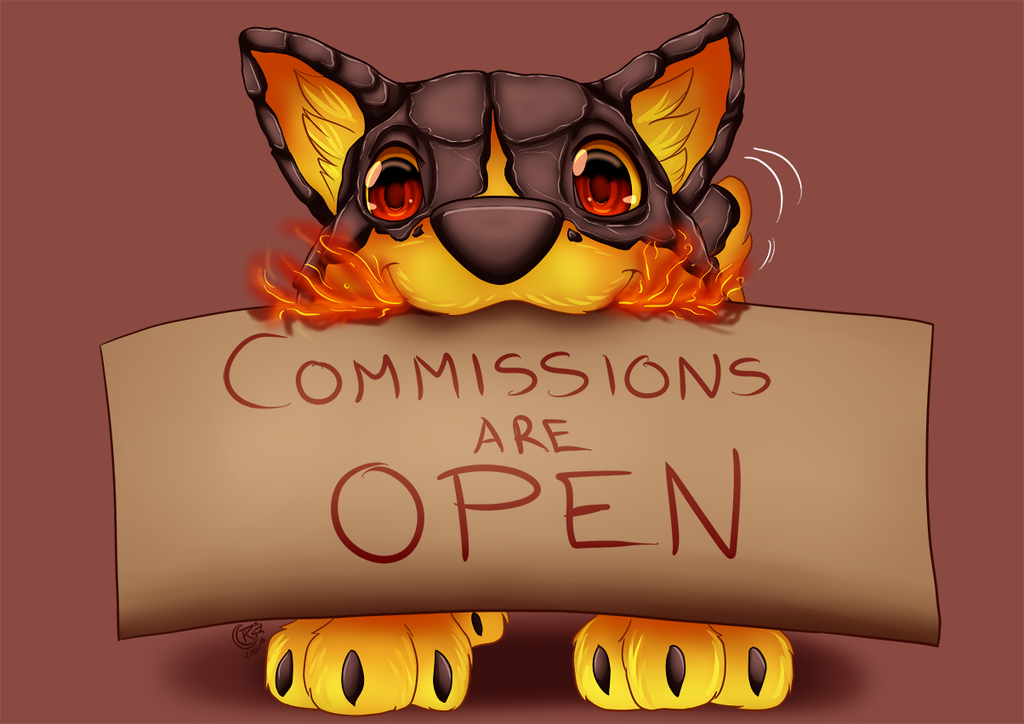 Commissions are open by LadyRosse