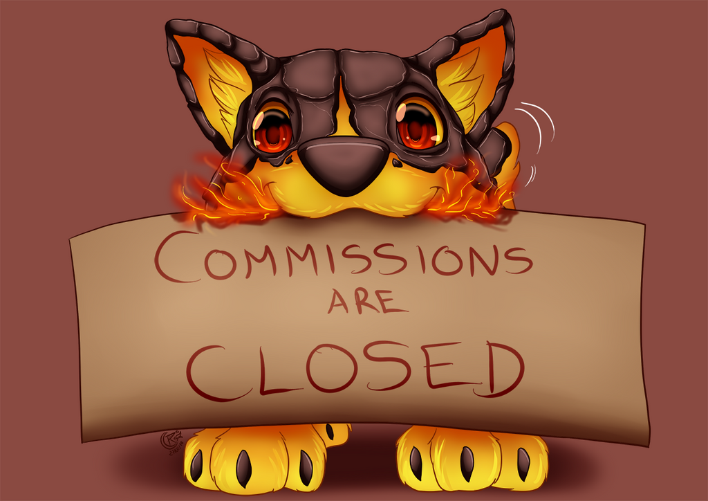 Commissions status DA by LadyRosse