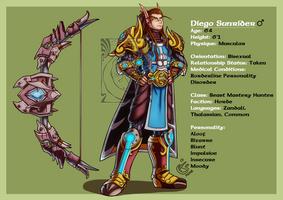CM - Diego Sunrider by LadyRosse