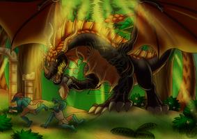 CM - Stranglethorn dragon by LadyRosse