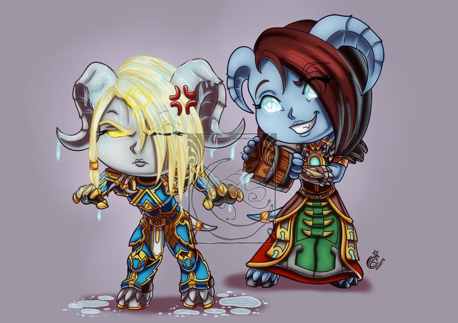 CM - Deathope and Akatria by LadyRosse