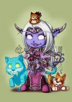 CM - Lilynette pets by LadyRosse