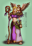 CM - DnD druid elf