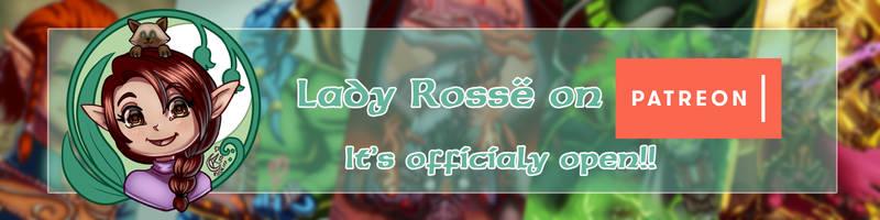 Lady Rosse on Patreon (OPEN) by LadyRosse