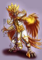 CM - Golden Arakkoa by LadyRosse