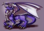 CM - Nightborne blue dragon
