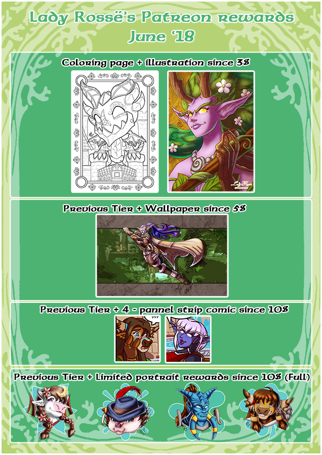 P - Rewards - June18 by LadyRosse