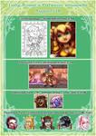 Patreon Rewards - August18 by LadyRosse