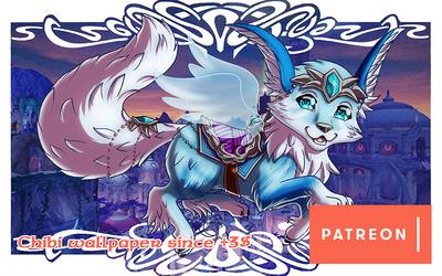 Patreon Reward - Vulpine Familiar by LadyRosse