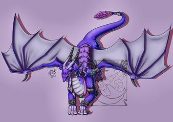 CM - Lexradia dragon form by LadyRosse