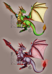 CM - Malsira dragon form by LadyRosse