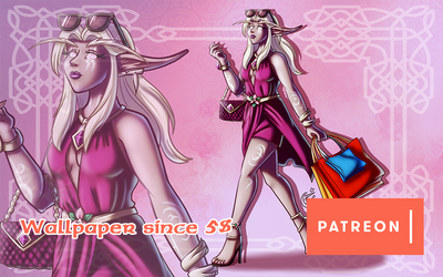 Patreon wallpaper May'19 by LadyRosse