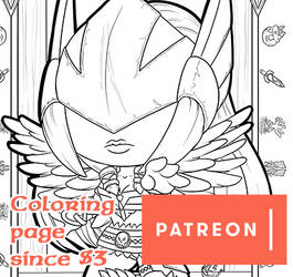 Patreon Coloring Page September '19