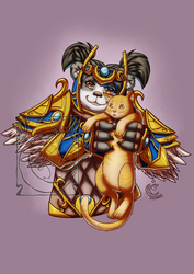 CM - Buuloki and pet