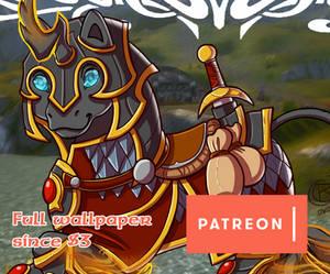 Patreon rewards March '20 Chibi wallpaper
