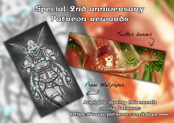 Special Anniversary Patreon Rewards