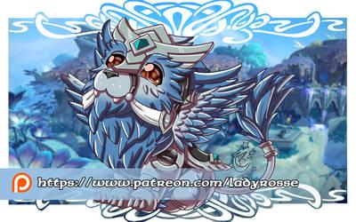Patreon rewards December'20 - Larion wallpaper