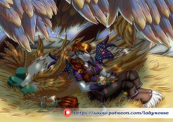 Patreon rewards January '21 - Illustration