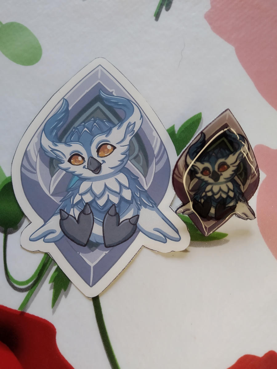 Patreon rewards February '21 - Kyrian Pin