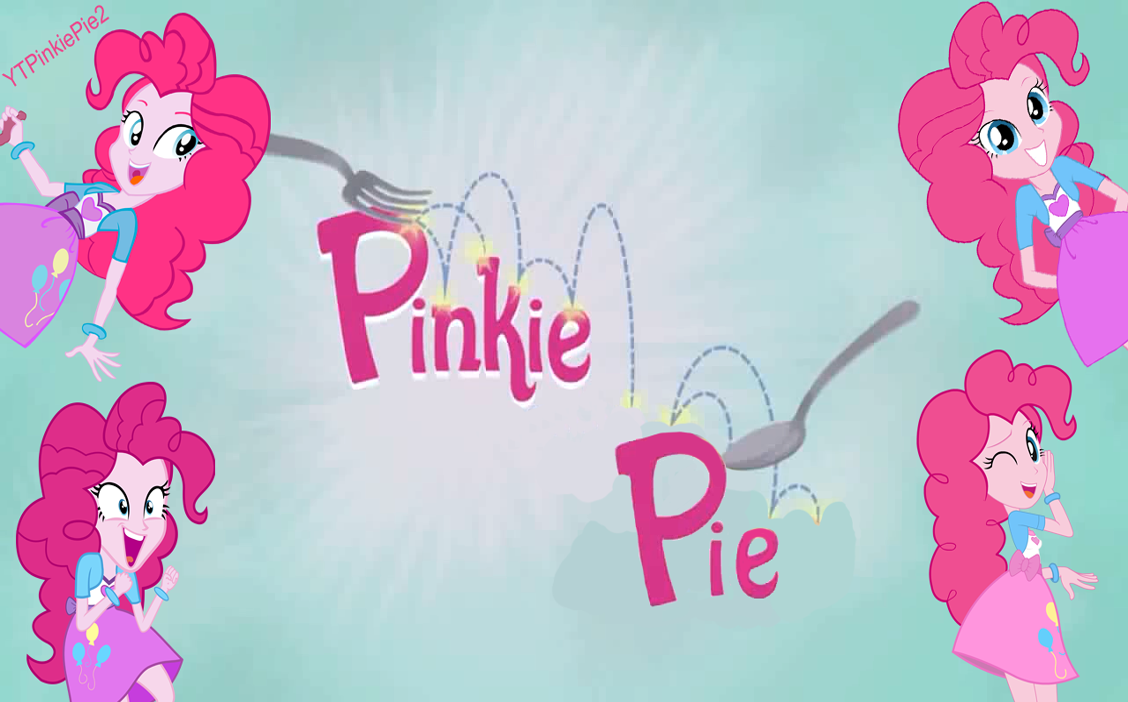 Mlp Equestria Girls Pinkie Pie Wallpaper By Ytpinkiepie2 On