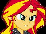 MLP - Equestria Girls - Sunset Shimmer Vector