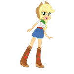..: Equestria Girls Applejack :..