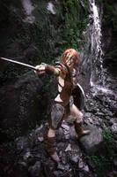 Aela the huntress The Elder scrolls V Skyrim by Wildyama