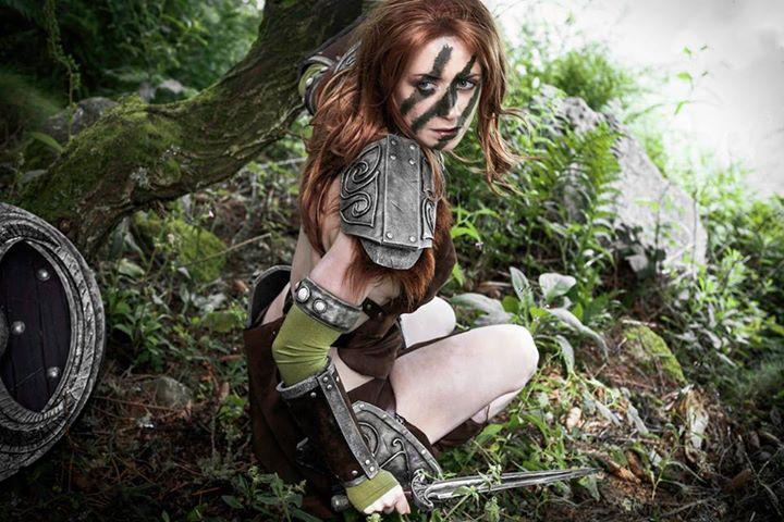 Aela the huntress by Wildyama on DeviantArt