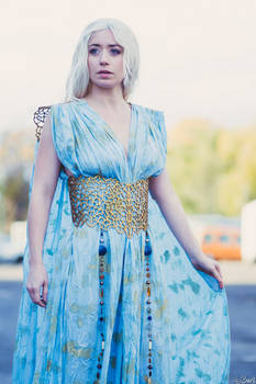 Daenerys cosplay Qarth dress