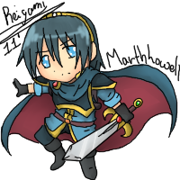 Chibi Marth by Reigami