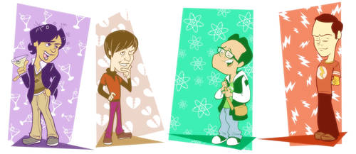 Big Bang Theory by StevenRayBrown