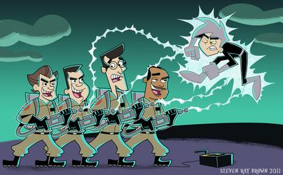Ghostbusters vs Danny Phantom
