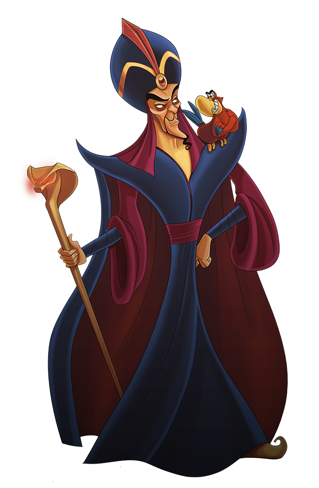 disney villain jafar by stevenraybrown on deviantart rh deviantart com Disney Villains Clip Art Black and White Disney Villain Silhouette Clip Art