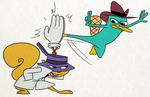 Secret Squirel vs Perry