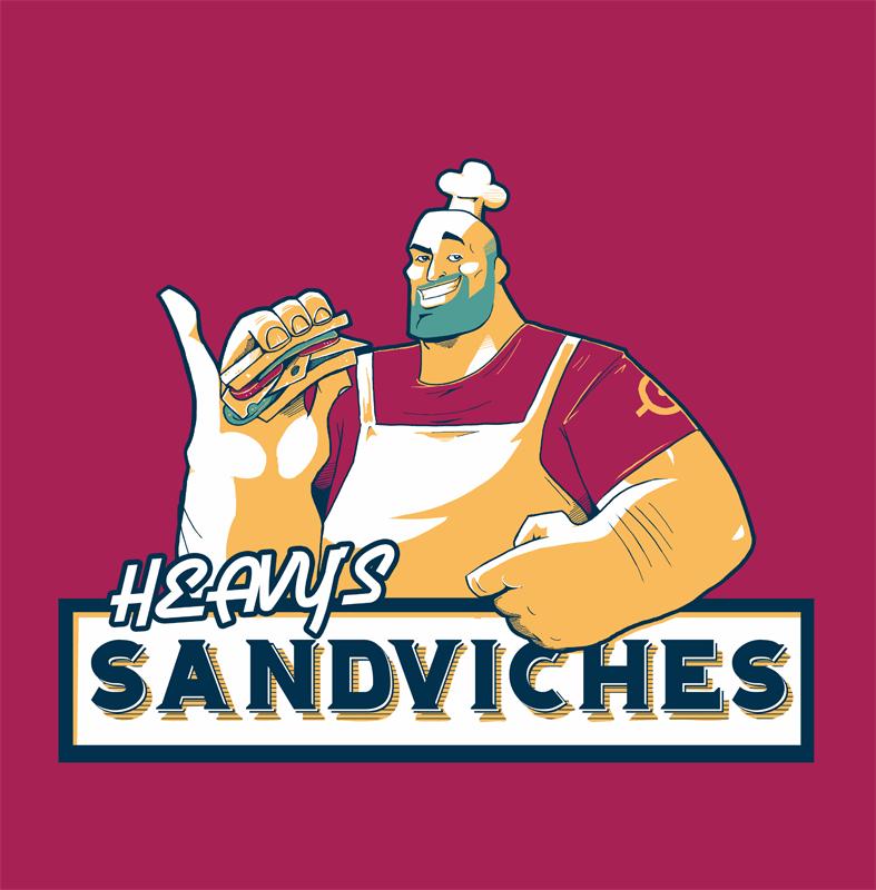 Heavys Sandvich By Stevenraybrown On Deviantart