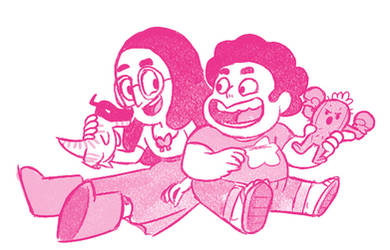 Steven n Connie DigiFans - Sketch