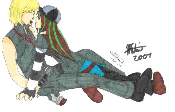 Mello and Mai by Zetsu-Chibi