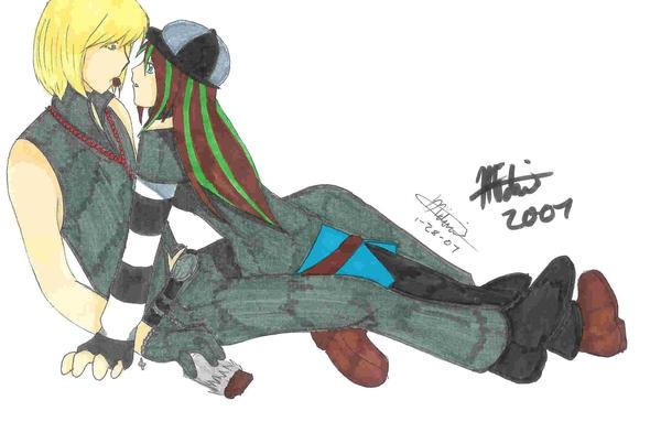 Mello and Mai by Zetsu-Chibi