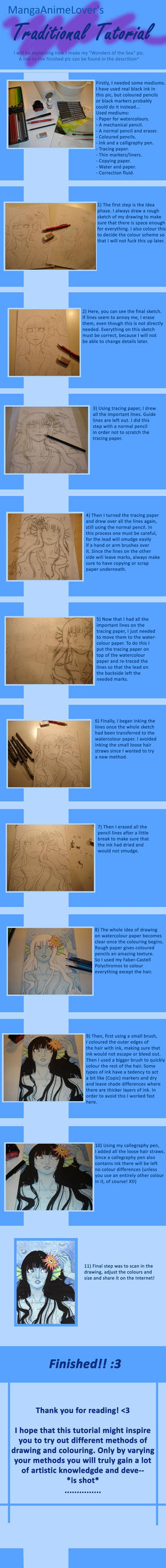 Traditional Tutorial by MangaAnimeLover