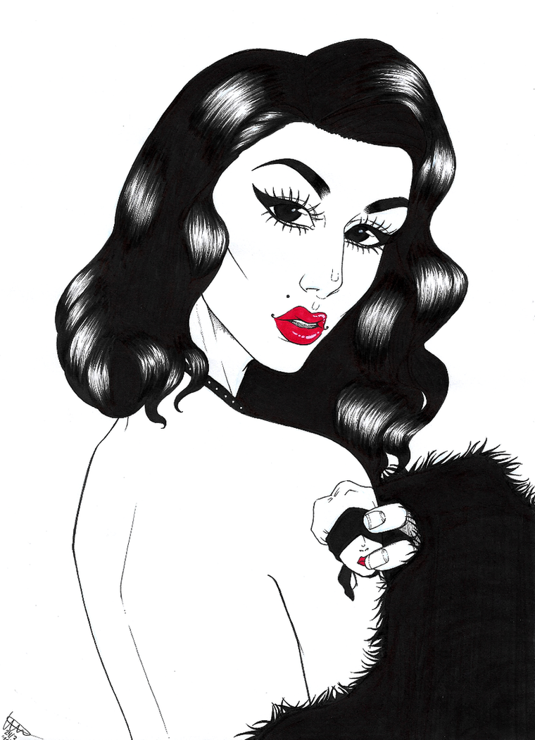 Violet Chachki by MangaAnimeLover