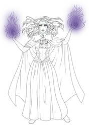 Euwynn - DnD Sorceress - W.I.P.