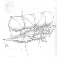 gnomish airship by trs