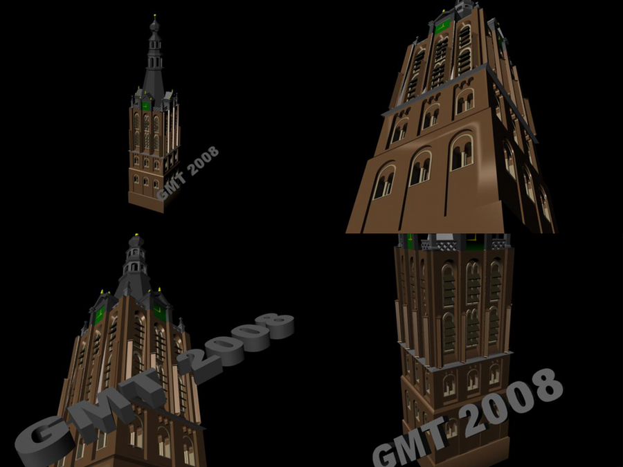 Cathedral tower by trs