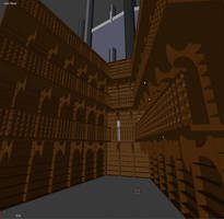The Black Cathedral - Library by trs