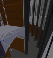 The Black Cathedral: Library by trs