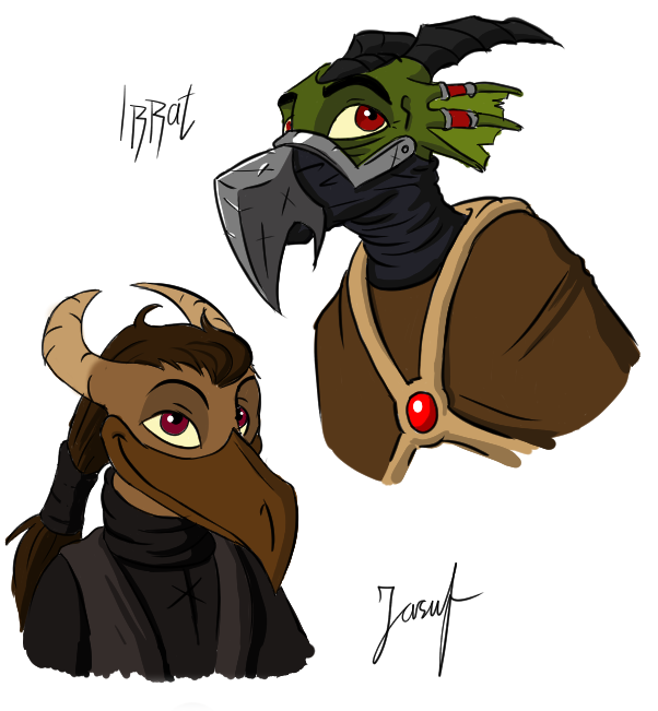 Irrat And Jasuf by trs