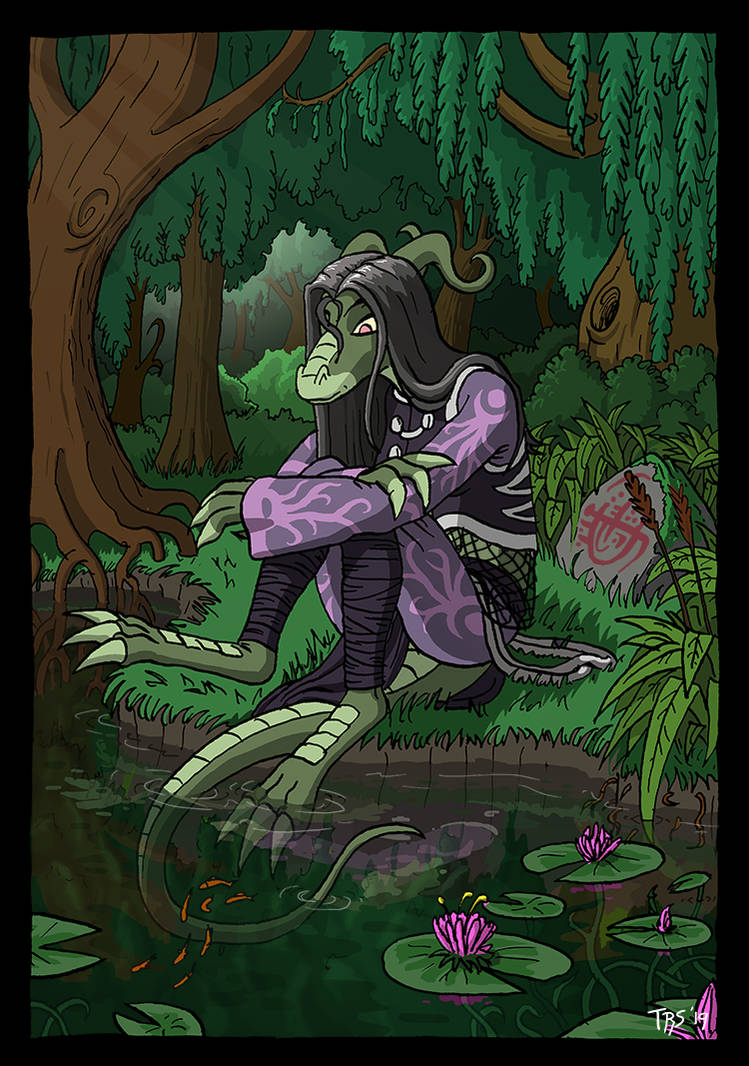 Zaranda At The Pond