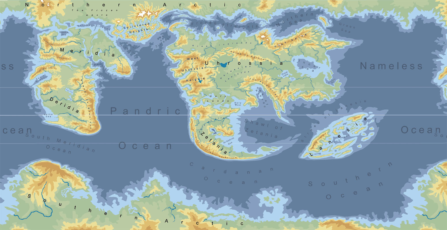 The world of Therras by trs